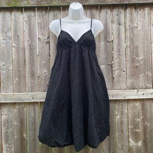GAP Black Sweetheart Bubble Dress |Size 4|